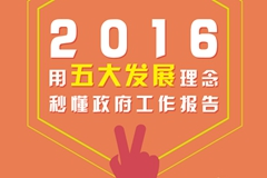2016用五大发展理念秒懂政府工作报告