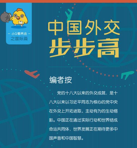 中国外交步步高