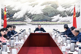 Senior CPC official stresses building high-level think tanks