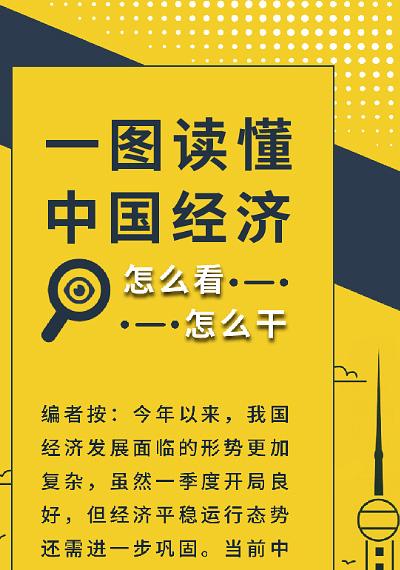 2019年第11期丨一图读懂中国经济怎么看、怎么干